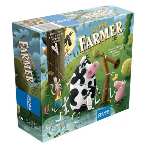 Granna - 1754 - Gra Rodzinna - Super Farmer