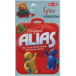 TACTIC Gra Planszowa Rodzinna ALIAS ORIGINAL Wersja Podróżna 55965