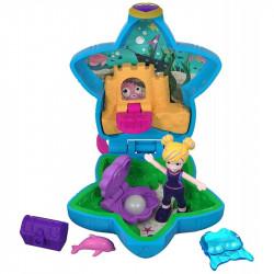 Mattel POLLY POCKET Lalka z Akcesoriami Akwarium FRY33