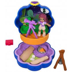 Mattel POLLY POCKET Lalka z Akcesoriami Camping Shani FWN40
