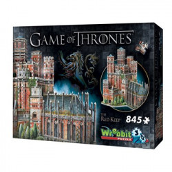 WREBBIT Puzzle 3D Gra o Tron Czerwona Twierdza 02017