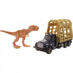 Mattel JURASSIC WORLD Zestaw T-REX z PRZYCZEPĄ FMY37