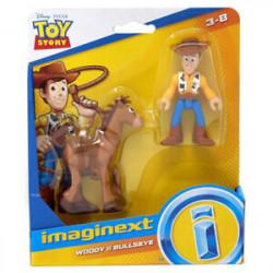 Fisher-Price Imaginext Toy Story Zestaw Figurek Chudy i Bullseye GFT01