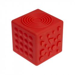 TULLO Czerwona Kostka Sensoryczna 455