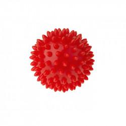 TULLO Jeżyk do Masażu i Rehabilitacji 9 cm Piłka w Kolorze Czerwonym 408