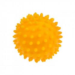 TULLO Jeżyk do Masażu i Rehabilitacji 9 cm Piłka w Kolorze Żółtym 408