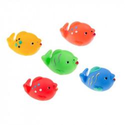 TULLO Zabawka do Kąpieli Zwierzątka Morskie RYBY 5 Sztuk 508