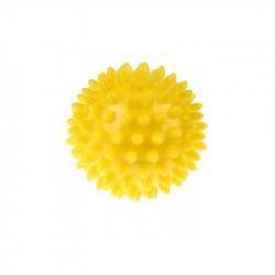 TULLO Jeżyk do Masażu i Rehabilitacji 6,6 cm Piłka w Kolorze Żółtym 400