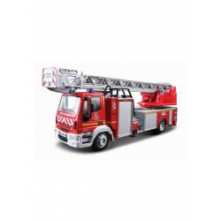 Bburago IVECO EMERGENCY Straż Pożarna Wóz z Drabiną Strażacką w Skali 1:50 32001