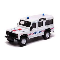 Bburago Policja Land Rover Defender w Skali 1:50 32003