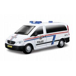 Bburago Policja MERCEDES VITO w Skali 1:50 32009