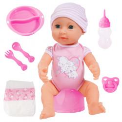 BAYER Piccolina Newborn Baby LALKA DO OPIEKI 40cm 0718