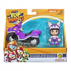 HASBRO Top Wing PTASIA AKADEMIA Betty Bike z Motocyklem E5824