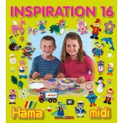 Hama - 39916 - Książeczka z Wzorami do Koralików Midi - Inspiracje 16