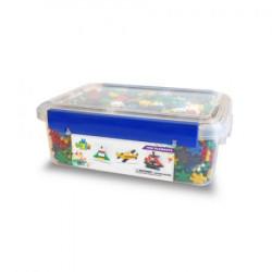 MELI BASIC Klocki Wafle w Pudełku Zestaw Konstrukcyjny dla Chłopców 1400 Sztuk 50308