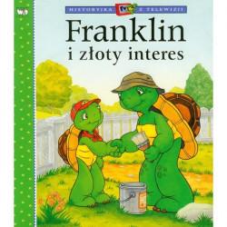 Wydawnictwo Debit Literatura Dziecięca FRANKLIN I ZŁOTY INTERES 2682