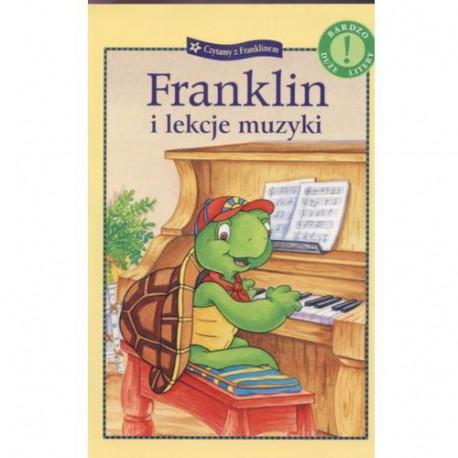 Wydawnictwo Debit Literatura Dziecięca FRANKLIN I LEKCJE MUZYKI 5782