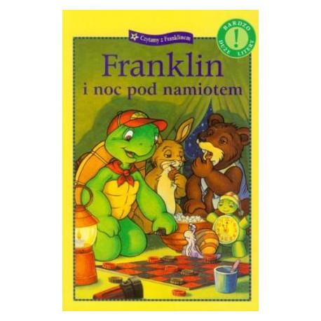 Wydawnictwo Debit Literatura Dziecięca FRANKLIN I NOC POD NAMIOTEM 5010