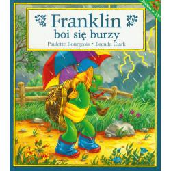 Wydawnictwo Debit Literatura Dziecięca FRANKLIN BOI SIĘ BURZY 2286