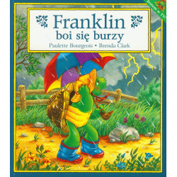 Wydawnictwo Debit Literatura Dziecięca FRANKLIN BOI SIĘ BURZY 672286