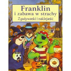 Wydawnictwo Debit Książeczka Edukacyjna dla Dzieci FRANKLIN i Zabawa w Strachy ZGADYWANKI NAKLEJANKI KOLOROWANKI 7472