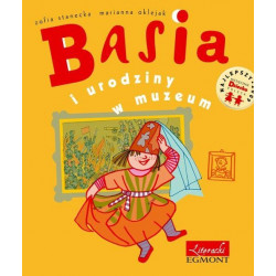 EGMONT Książka dla Dzieci Literatura Dziecięca BASIA I URODZINY W MUZEUM 3481