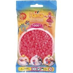 Hama - Midi - 20733 - Koraliki Różowo- Cukierkowe - Neonowe - Zestaw Uzupełniający 1000 szt