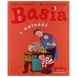 EGMONT Książka dla Dzieci Literatura Dziecięca BASIA I WOLNOŚĆ 114357