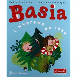 EGMONT Książka dla Dzieci Literatura Dziecięca BASIA I WYPRAWA DO LASU 5461