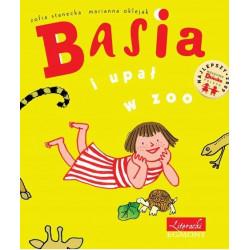 EGMONT Książka dla Dzieci Literatura Dziecięca BASIA I UPAŁ W ZOO 3049