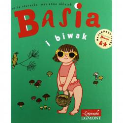 EGMONT Książka dla Dzieci Literatura Dziecięca BASIA I BIWAK 3445