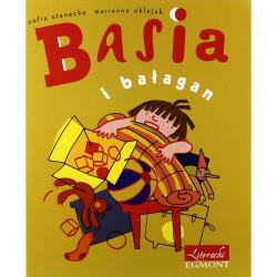 EGMONT Książka dla Dzieci Literatura Dziecięca BASIA I BAŁAGAN 3520