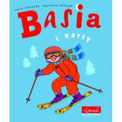 EGMONT Książka dla Dzieci Literatura Dziecięca BASIA I NARTY 4334