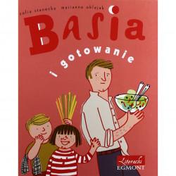 EGMONT Książka dla Dzieci Literatura Dziecięca BASIA I GOTOWANIE 3841