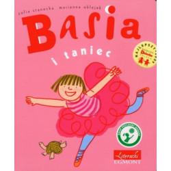 EGMONT Książka dla Dzieci Literatura Dziecięca BASIA I TANIEC 753766
