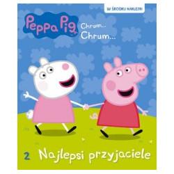 Wydawnictwo Media Serwis Zawada Książeczka Edukacyjna dla Dzieci Naklejki ŚWINKA PEPPA Najlepsi Przyjaciele 3661