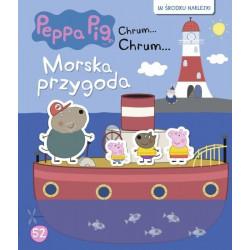 Wydawnictwo Media Serwis Zawada Książeczka Edukacyjna dla Dzieci Naklejki ŚWINKA PEPPA Morska Przygoda 9564