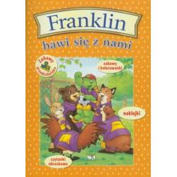 Wydawnictwo Debit Książeczka Edukacyjna dla Dzieci FRANKLIN Bawi się z Nami ZGADYWANKI NAKLEJANKI KOLOROWANKI 8530
