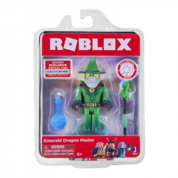 JAZWARES Roblox Figurka EMERALD DRAGON MASTER 10718