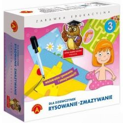 Alexander - Gra Edukacyjna - Rysowanie - Zmazywanie - Dla Dziewczynek