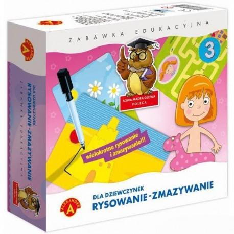 Alexander - Gra Edukacyjna - Rysowanie - Zmazywanie - Dla Dziewczynek 7381