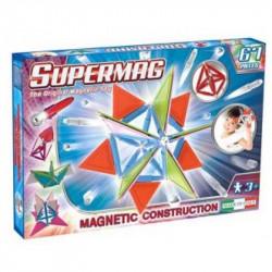 SUPERMAG Magnetyczne Klocki Konstrukcyjne Trendy 67 el. 0156