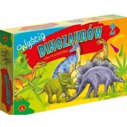 Alexander - Gra Planszowa - Wyścig Dinozaurów