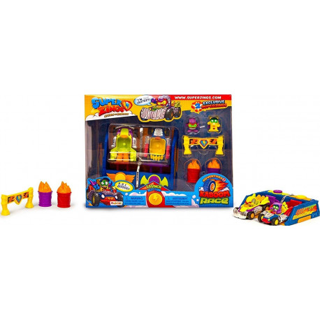 Magic Box Toys SUPER ZINGS Kaboom Race Wyścigi Super Zings 7327