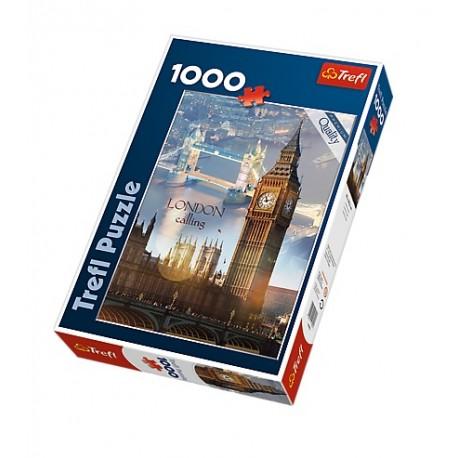Trefl - 10395 - Puzzle 1000 - Londyn o Świcie