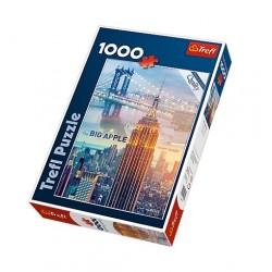 Trefl - 10393 - Puzzle 1000 - Nowy Jork o Świcie