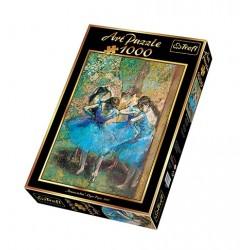 Trefl - 10361 - Art Puzzle 1000 - Błękitne Tancerki - Edgar Degas