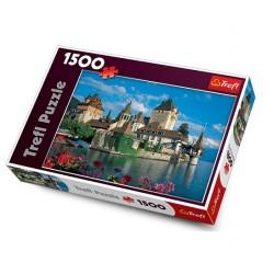 Trefl - 26102 - Puzzle 1500 - Zamek Oberhofen, Szwajcaria