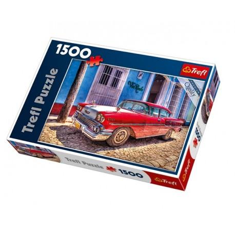 Trefl - 26128 - Puzzle 1500 - Chevrolet Oldtimer - Kuba