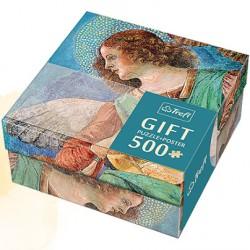 Trefl - 37215 - Puzzle Gift 500 - Melozzo da Forli - Anielski Muzyk
